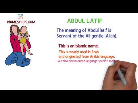 The meaning of Abdul latif - YouTube