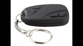 how to use spy key chain camera