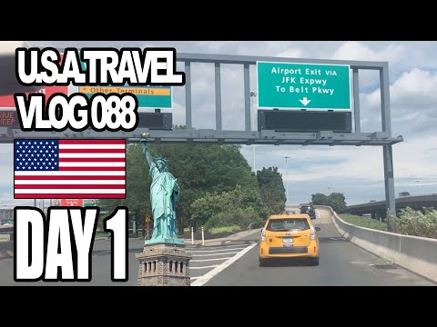 First Time In America   New York City Day 1/10 (VLOG 088)