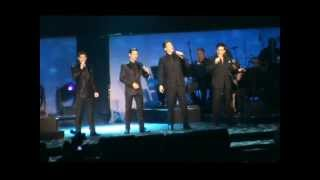 Il Divo Greatest Hits Tour in Amsterdam, Ziggo Dome 29-03-2013 ( first 6 songs )