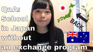 QnA: How I attended a Japanese High School (NON-EXCHANGE PROGRAM)