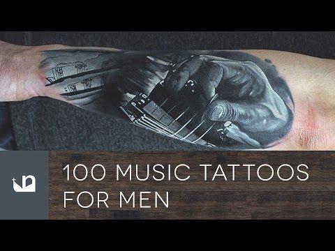 100 Music Tattoos For Men