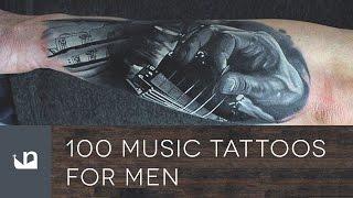 100 Music Tattoos For Men