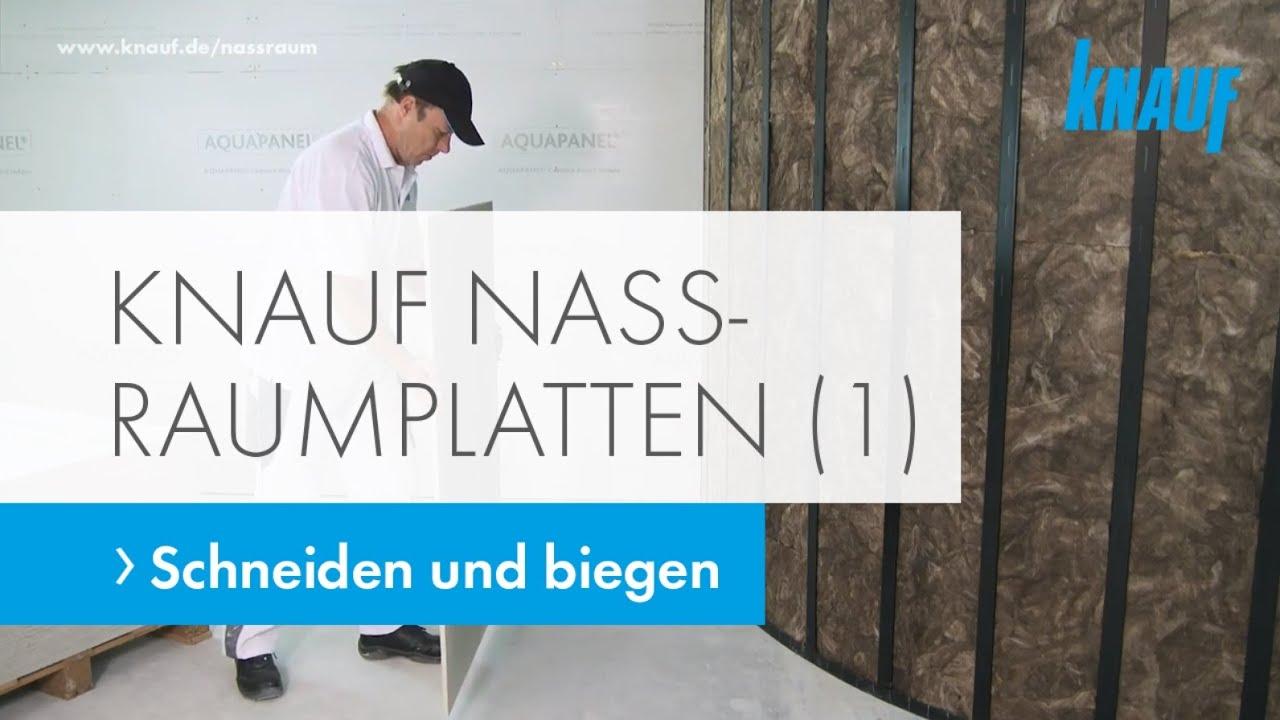 Berühmt Knauf Nassraumplatten verarbeiten (Teil 1) – Zementplatten OB53