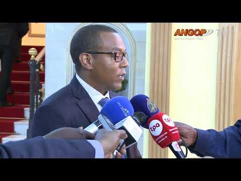 José de Lima Massano toma posse como  governador do BNA