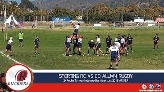 Rugbiers TV - Sporting RC vs CD Alumni Rugby Intermedias - Full Match