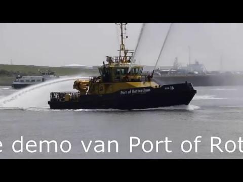 Port of Rotterdam RPA 16 geeft unieke demonstratie in Hoek van Holland