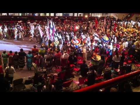 Northern Cheyenne Flag Song @ He Sapa Wacipi Na Oskate - Black Hills Powwow 2011 - Saturday Nite
