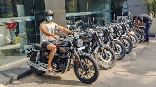 Honda H'ness CB350 Deliveries Begin: On-Road Price And All Other Details