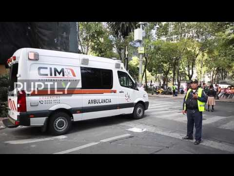 Mexico: Hundreds take part in drill on anniversary of 1985 earthquake