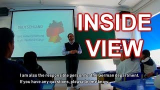 Teaching German in China - German Class in China - Lehrer in China - Deutschunterricht in China