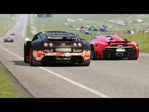 Koenigsegg Regera Vs Supercars At Highlands