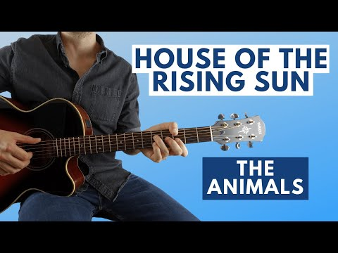 House of the rising sun fingerstyle lesson