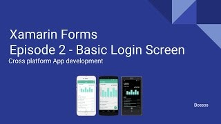 Video Xamarin Tutorial Episode 2 - Basic Login Screen download MP3, 3GP, MP4, WEBM, AVI, FLV Oktober 2018