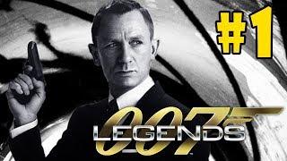 James Bond 007: Legends - Walkthrough - Part 1 - Goldfinger: Auric Enterprises (PC HD) [1080p60FPS]