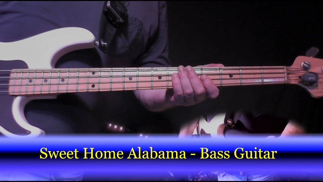 play bass sweet home alabama lynyrd skynyrd bass guitar cover youtube. Black Bedroom Furniture Sets. Home Design Ideas
