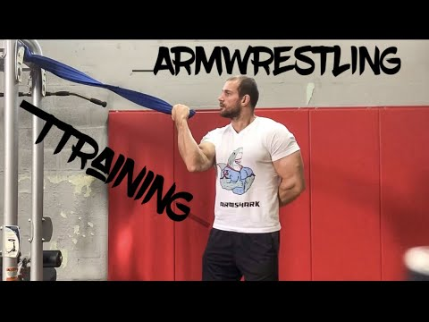 ARM WRESTLING TRAINING FOR HOOK AND TOPROLL #armwrestling #armsport
