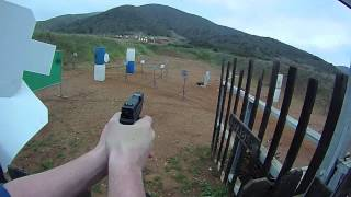 shooting match xd9 subcompact steel targets