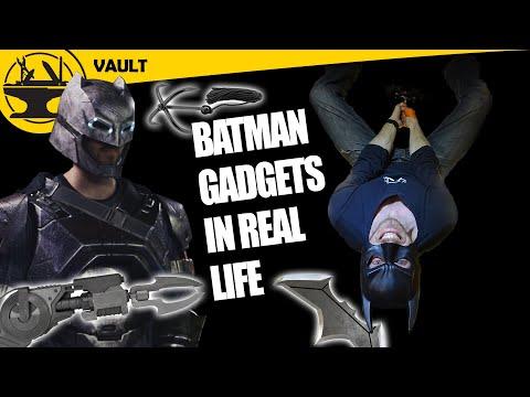 REAL Batman Gadgets! (Hacksmith Vault #2)