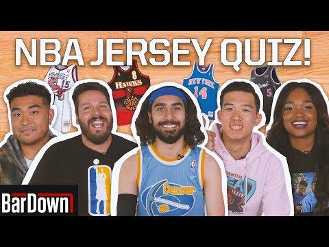 CAN YOU PASS THIS NBA JERSEYS QUIZ?