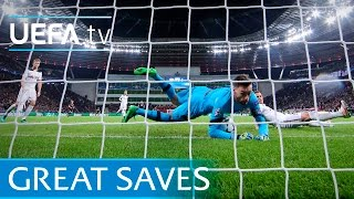 Buffon, Lloris, Schmeichel - 10 great Champions League saves