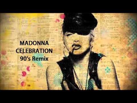 Madonna - Celebration ( 90's Eurodance Remix )