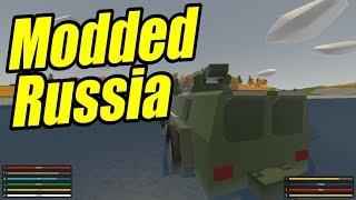 Unturned Scraps - S1E1 - Modded Russia!!
