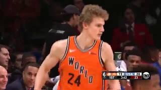 Lauri Markkanen and Kris Dunn Highlights from NBA Kickstart Rising Stars Game (02.16.18)