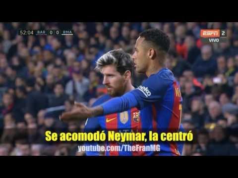 Barcelona  vs  Real Madrid 1 1 Parodia rap lento