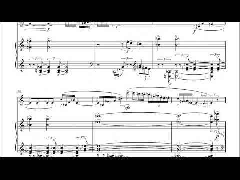 Quest for Saxophone and Piano (Score)