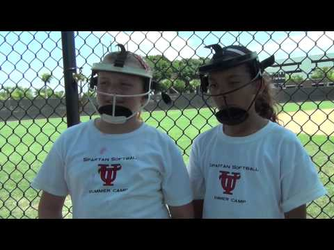 "RIP-IT Defense Fielder's Mask - ""...it's not plastic, so it won't break."""