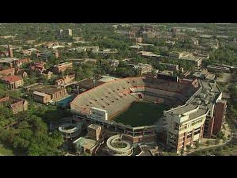 university of florida campus aerial