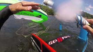 Drift Launching Boardriding Maui Cloud 6.2 Kite