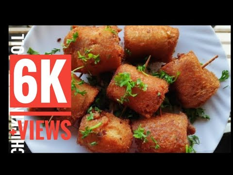 Chicken Swiss Roll|| Easy Chicken Starter||yummy And Quick Recipe