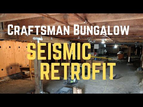 Seismic retrofit of Craftsman Bungalow start to finish in Oakland California!