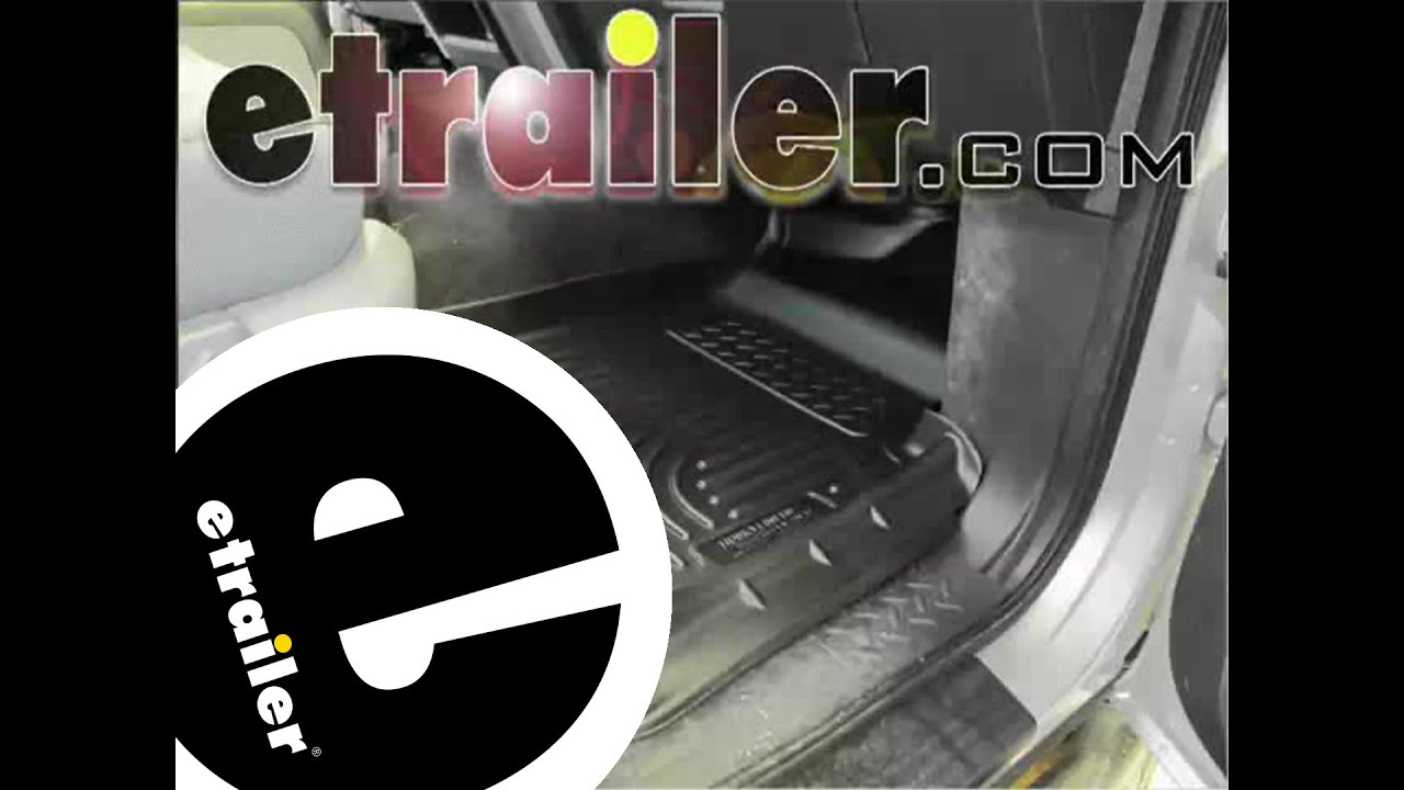 Review of the husky front floor liners on a 2011 ford f 150 etrailer com youtube