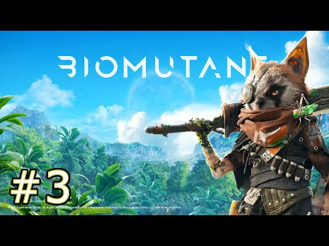 #3【バイオミュータント】新作ゲーム実況!PS5で遊ぶきっとティーンエイジなバイオミュータントを初見プレイ。バングビットスカイジュップスピットコを手に入れたぞ PS5での動作もチェック。ストーリー攻略