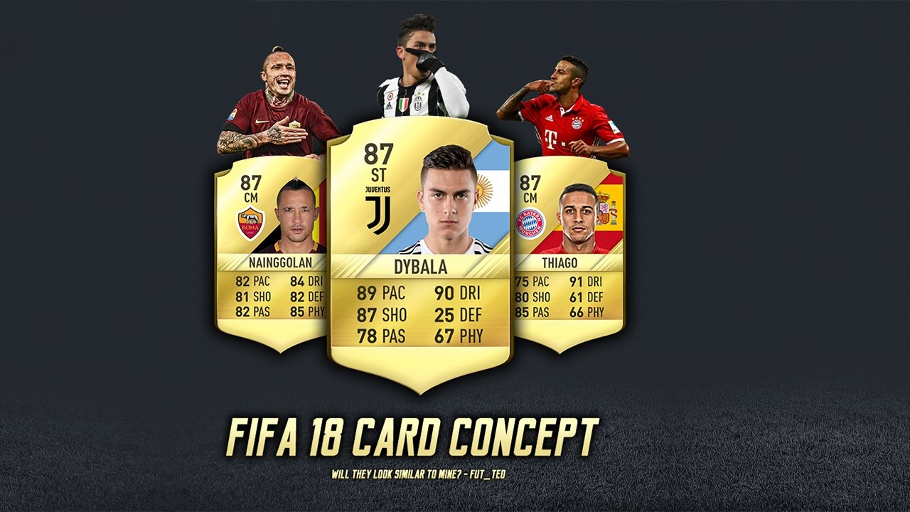 Fifa  Card Concept By Fut Ted Tutorial