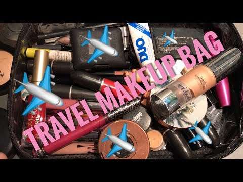 WHAT'S IN MY MAKEUP BAG   AUSTIN EDITION