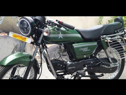 Hero Honda SS Henna Green Limited Edition.