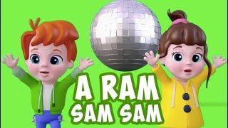 A Ram Sam Sam Şarkısı | + En Eğlenceli Çocuk Şarkıları