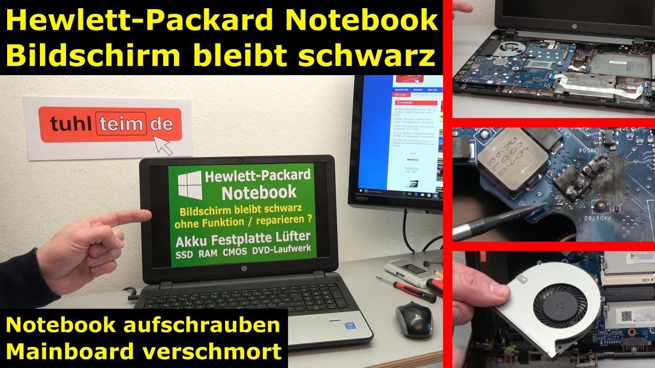 hp notebook funktioniert nicht mehr bildschirm bleibt schwarz hewlett packard laptop pr fen. Black Bedroom Furniture Sets. Home Design Ideas