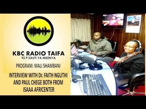 GMOs in Kenya: Information Sharing - RADIO INTERVIEW