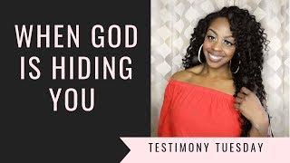 When God is Hiding You | I AM JAYNE DOE