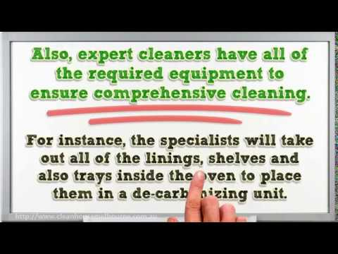 Benefits of Hiring an Oven Cleaning Service