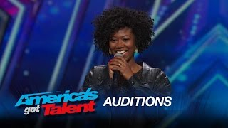 Sharon Irving: Mel B Hits Golden Buzzer for Soulful Singer - America