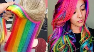 Beautiful Hairstyles for Girls 💇😱 Amazing Hair Color Transformation 2018 Part2