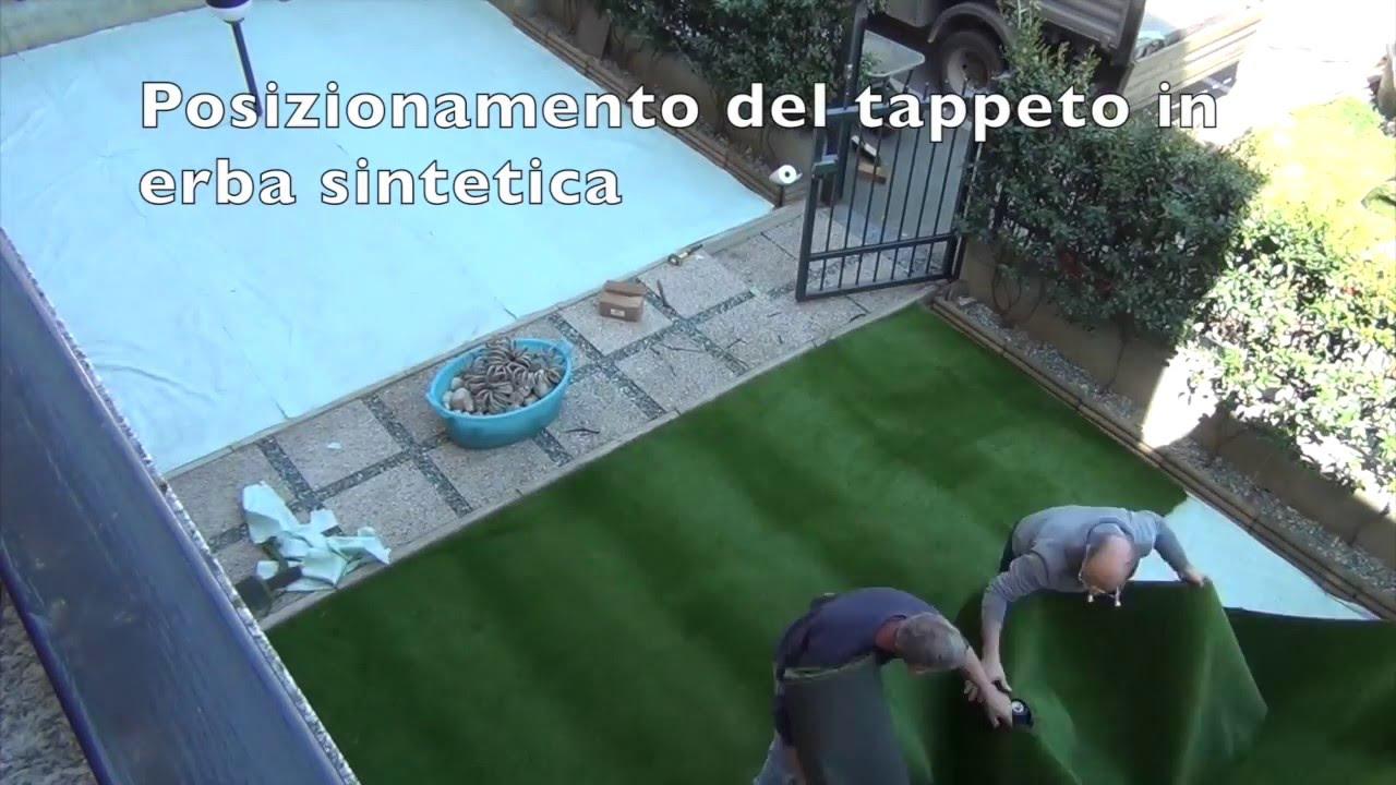 Come posare il prato sintetico guida completa in 2 minuti for Prato finto leroy merlin