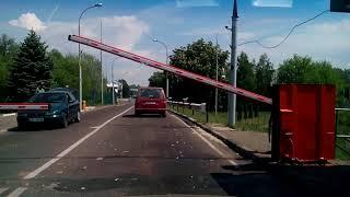 Пересекаю границу Польша-Белоруссия