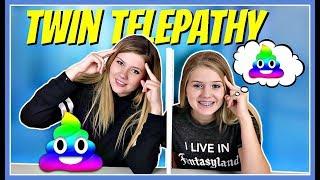 TWIN TELEPATHY SLIME CHALLENGE || SIS VS SIS || Round 3 || Taylor and Vanessa